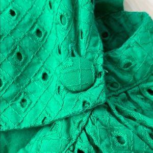 Topshop Dresses - TopShop Pinafore Eyelet Dress